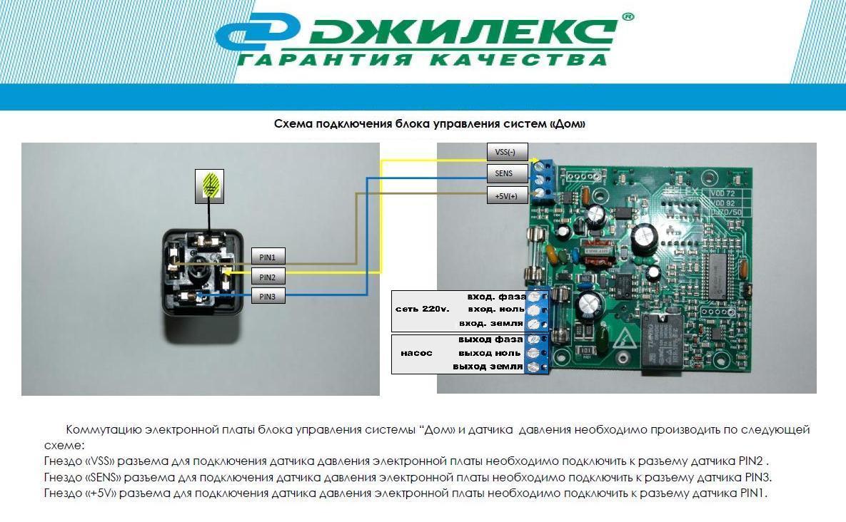 Автоматика системы Джилекс Дом